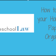 How to Organize Your PA Homeschool Forms
