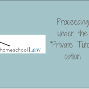 "Homeschooling in Pennsylvania Under the ""Private Tutor"" Option"