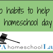 Two Homeschool Lifesavers, an Announcement and a Freebie!