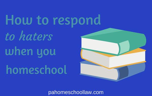 homeschool haters