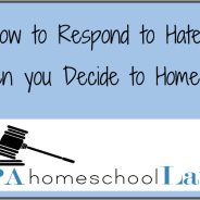 How to Respond to Haters When You've Decided to Homeschool