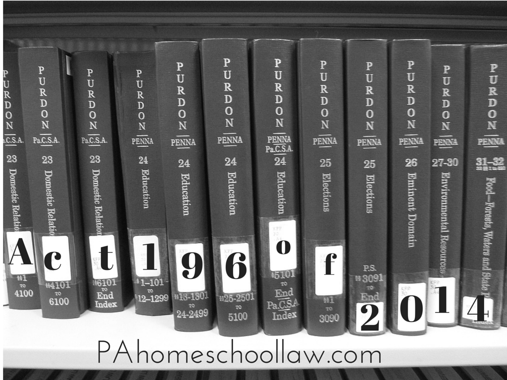 New homeschool law in PA for #portfolios #evaluations #pahomeschoollaw