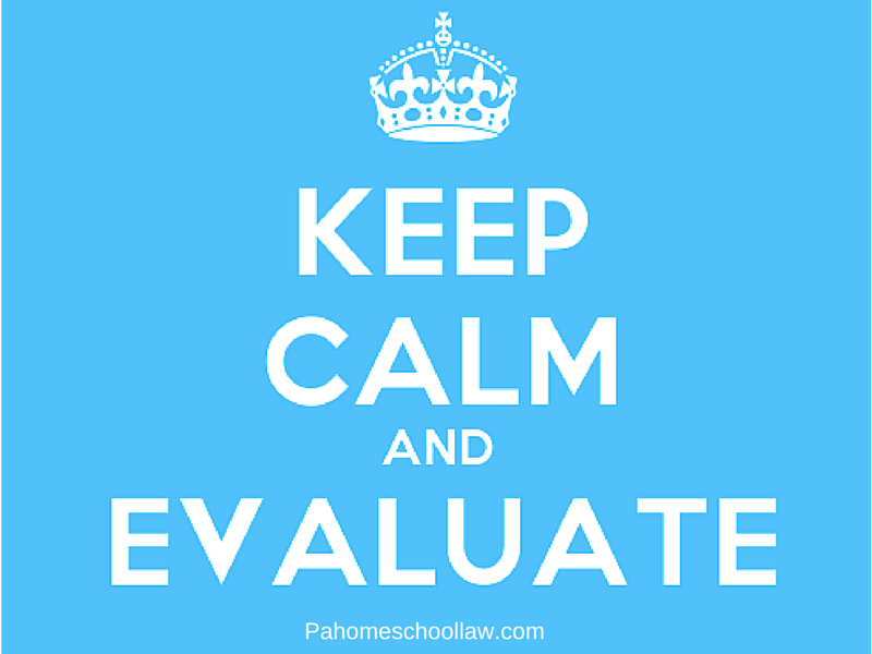 Minimum qualifications of an evaluator under PA homeschool law