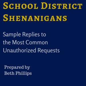 PA Homeschool law sample letters School District Shenanigans