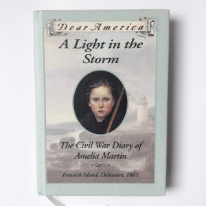 Dear America A Light in the Storm The Civil War Diary of Amelia Martin