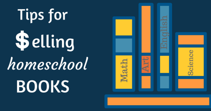 tips for selling used homeschool books