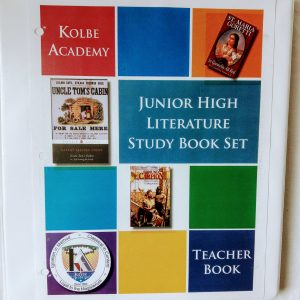 Kolbe Academy Junior High Literature Study Book Set Teacher Book