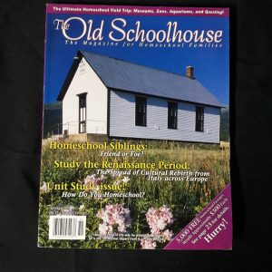 The Old Schoolhouse Magazine Back Issue Spring 2005