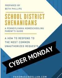 Cyber Monday School District Shenanigans